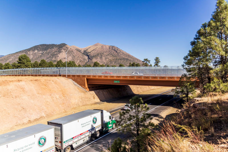 Fourth Street Bridge project in Flagstaff wins regional award