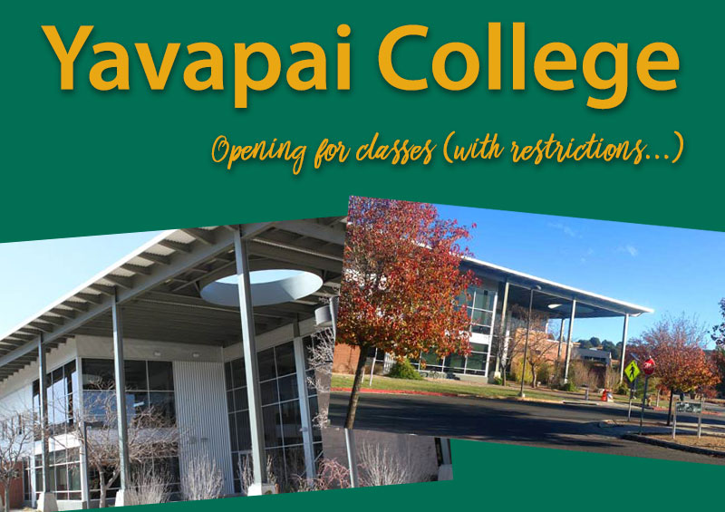 Yavapai College Announces Phased-In Approach for Fall 2020