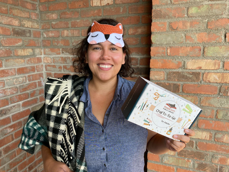 Adult Craft-to-Go Kits Available at the Prescott Public Library